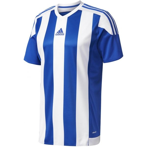 adidas STRIPED 15 JSY JR niebieski 164 - Koszulka piłkarska chłopięca