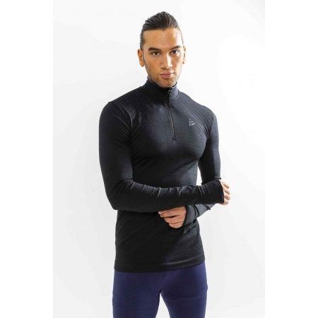 Мъжка функционална блуза - Craft FUSEKNIT COMFORT ZIP M - 2