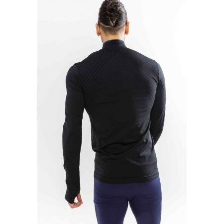 Мъжка функционална блуза - Craft FUSEKNIT COMFORT ZIP M - 3
