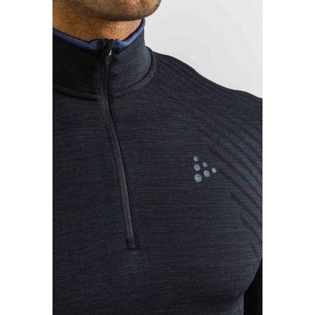 Мъжка функционална блуза - Craft FUSEKNIT COMFORT ZIP M - 4
