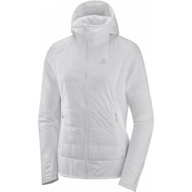 Salomon RIGHT NICE HYBRID HOODIE W - Hanorac damă