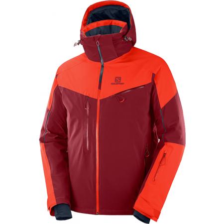 Salomon ICESPEED JKT M - Pánska lyžiarska bunda