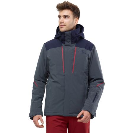 Pánská lyžařská bunda - Salomon STORMSEASON JKT M - 2