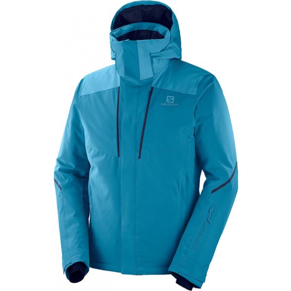 Salomon STORMSEASON JKT M - Pánska lyžiarska bunda