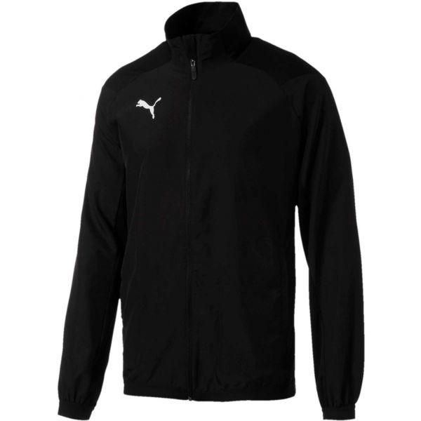 Puma LIGA SIDELINE JACKET čierna Pánska športová bunda L Puma
