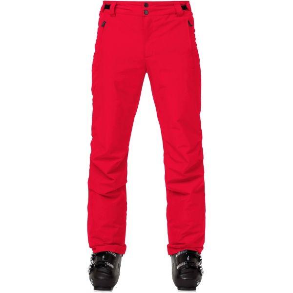 Rossignol RAPIDE červená 2xl - Pánske lyžiarske nohavice