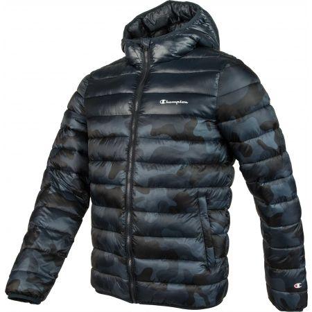 Pánska zimná bunda - Champion HOODED JACKET - 2