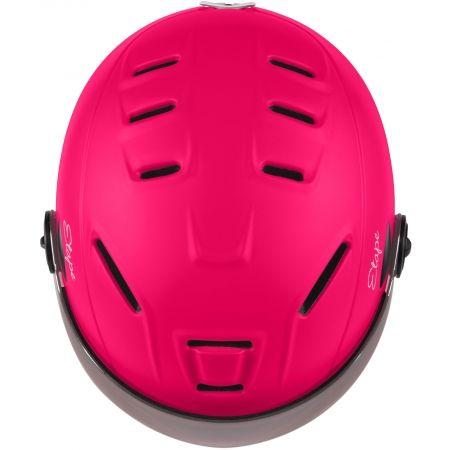 Children's ski helmet with a visor - Etape RIDER PRO - 4