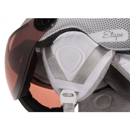 Dámská lyžařská přilba s visorem - Etape CORTINA PRO - 3