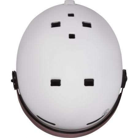 Dámská lyžařská přilba s visorem - Etape CORTINA PRO - 4