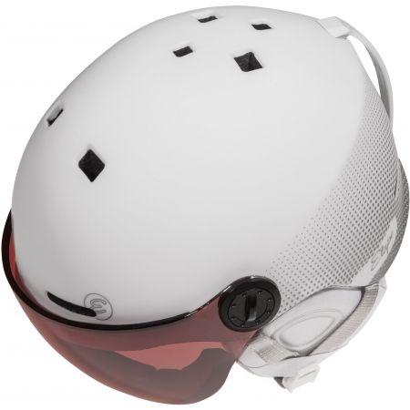 Dámská lyžařská přilba s visorem - Etape CORTINA PRO - 5
