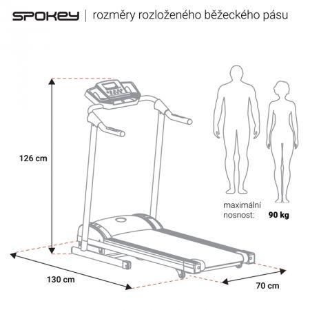 Běžecký pás - Spokey GATTACA - 10