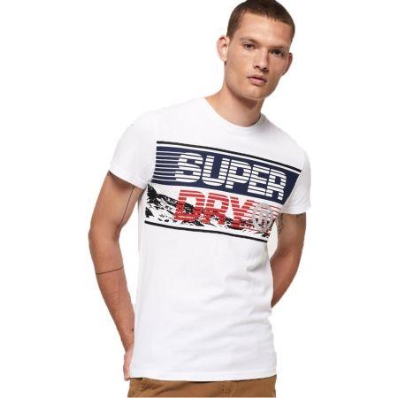 Pánske tričko - Superdry DOWNHILL PHOTOGRAPHIC TEE - 2