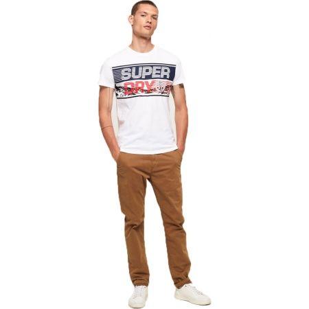Pánske tričko - Superdry DOWNHILL PHOTOGRAPHIC TEE - 5