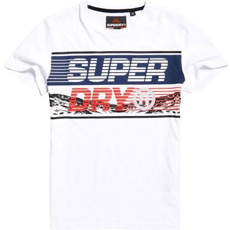 Superdry DOWNHILL PHOTOGRAPHIC TEE - Koszulka męska