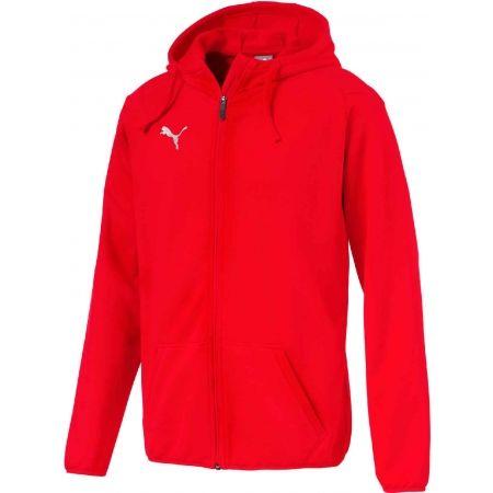 Puma LIGA CASUAL - Férfi kapucnis pulóver