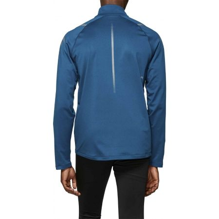 Tricou alergare bărbați - Asics ICON WINTER LS 1/2 ZIP TOP - 5