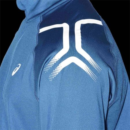 Tricou alergare bărbați - Asics ICON WINTER LS 1/2 ZIP TOP - 8