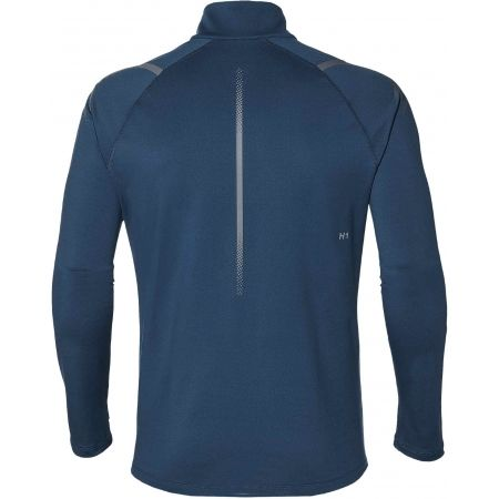 Tricou alergare bărbați - Asics ICON WINTER LS 1/2 ZIP TOP - 2