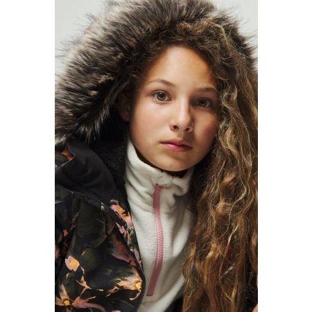 Dievčenská snowboardová/lyžiarska bunda - O'Neill PG FUR ZEOLITE JACKET - 5