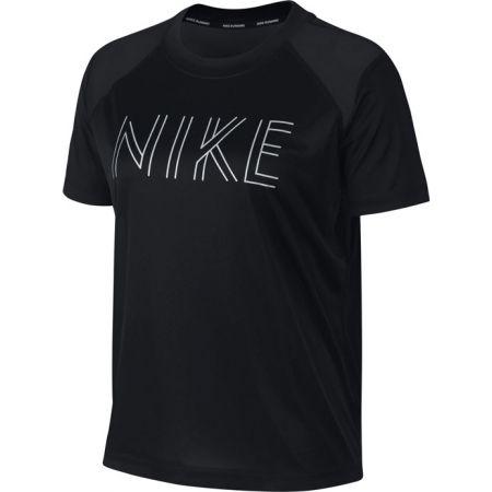Nike DRI-FIT MILER - Дамска тениска за бягане