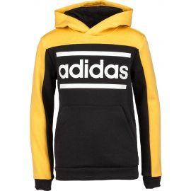 adidas LIN CB HOODIE - Children's sweatshirt