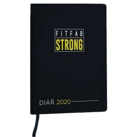 Fitfab Strong AGENDĂ FITFAB - Agendă săptămânală pentru fitness și motivație pe anul  2020