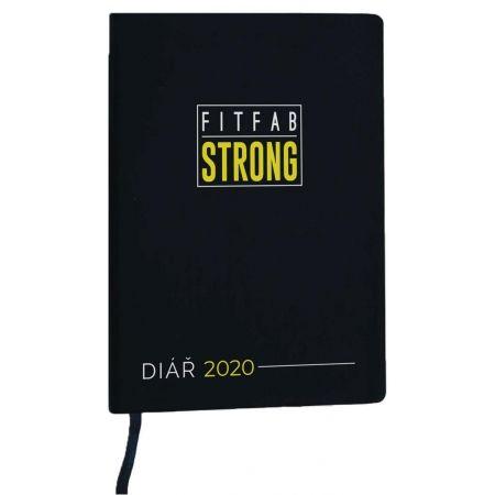 Týdenní fitness a motivační diář pro rok 2020 - Fitfab Strong FITFAB DIÁŘ - 1