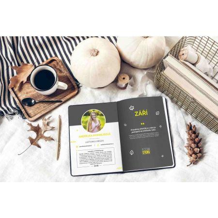 Týdenní fitness a motivační diář pro rok 2020 - Fitfab Strong FITFAB DIÁŘ - 3