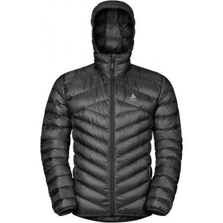 Pánská péřová bunda - Odlo MEN'S INSULATED JACKET HOODY COCOON N-THERMIC - 2