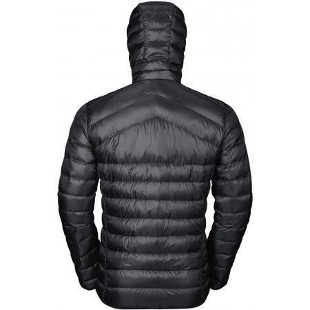 Pánská péřová bunda - Odlo MEN'S INSULATED JACKET HOODY COCOON N-THERMIC - 4