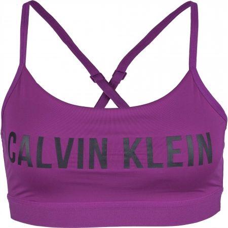 Calvin Klein LOW SUPPORT BRA - Biustonosz sportowy damski