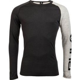 Bula ATTITUDE MERINO WOOL CREW - Pánske tričko s dlhým rukávom