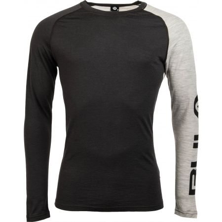 Bula ATTITUDE MERINO WOOL CREW - Men's long sleeve T-shirt