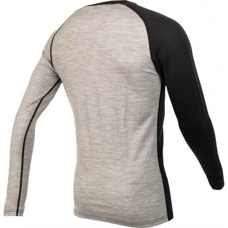 Мъжка блуза с дълъг ръкав - Bula ATTITUDE MERINO WOOL CREW - 3