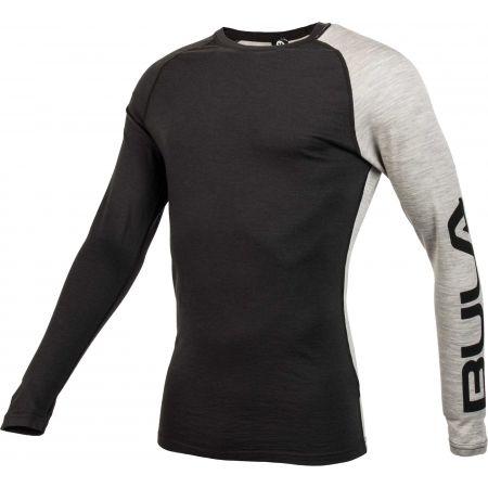 Мъжка блуза с дълъг ръкав - Bula ATTITUDE MERINO WOOL CREW - 2