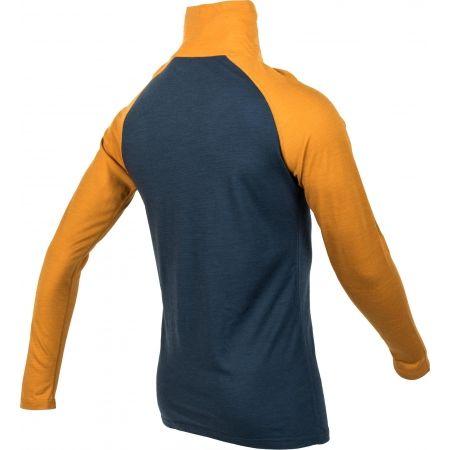 Men's long sleeve T-shirt - Bula RETRO WOOL HZ - 3