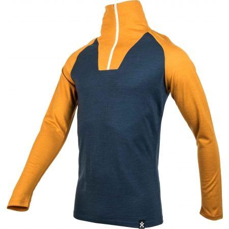 Men's long sleeve T-shirt - Bula RETRO WOOL HZ - 2