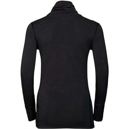 Dámské funkční tričko - Odlo BL TOP TURTLE NECK L/S NATURAL MERINO - 2