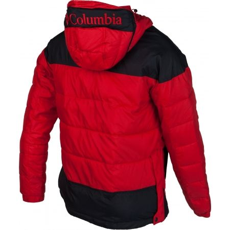 Pánska zimná bunda - Columbia LODGE PULLOVER JACKET - 3