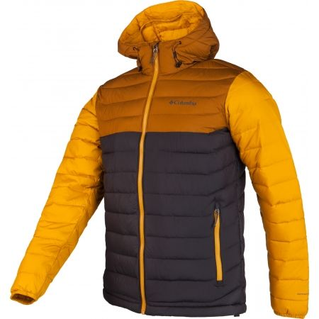 Pánska bunda - Columbia POWDER LITE HOODED JACKET - 2