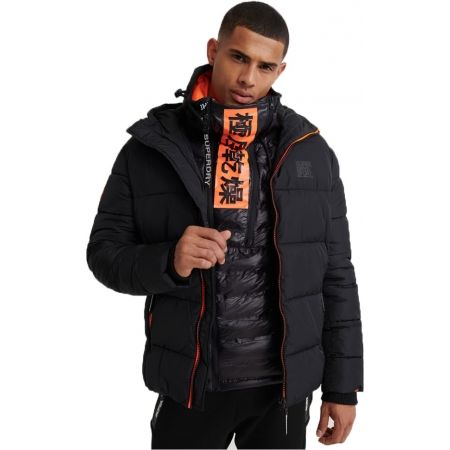 Superdry TAPED SPORTS PUFFER - Kurtka męska