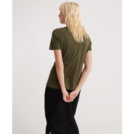 Dámské tričko - Superdry VINTAGE LOGO METALLIC CASCADE ENTRY TEE - 2