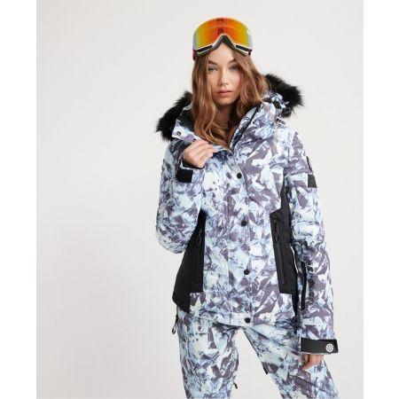 Dámska lyžiarska bunda - Superdry LUXE SNOW PUFFER - 2