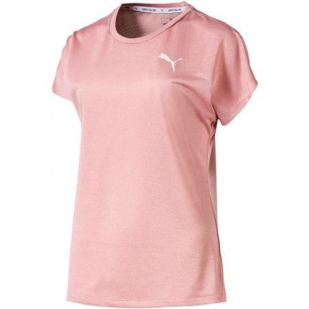 Puma ACTIVE MESH HEATHER TEE - Дамска спортна тениска