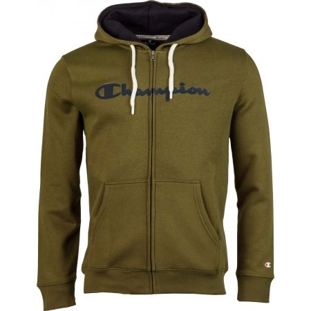 Pánska mikina - Champion HOODED  FULL ZIP SWEATSHIRT - 1