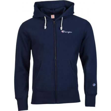 Pánska mikina - Champion HOODED FULL ZIP SWE - 1