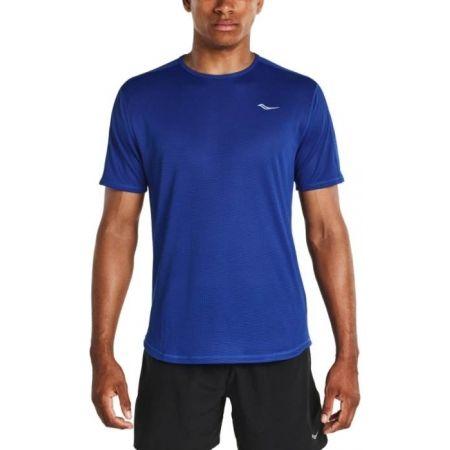 Мъжка тениска за бягане - Saucony HYDRALITE SHORT SLEEVE VARSITY