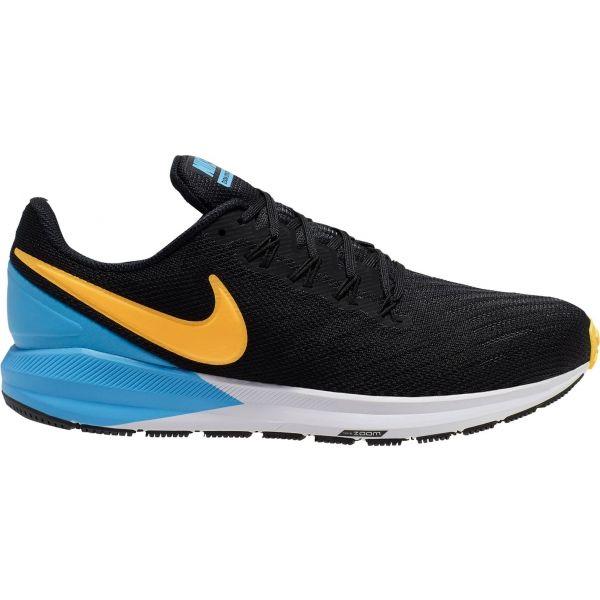Nike AIR ZOOM STRUCTURE 22 černá 8.5 - Pánská běžecká obuv