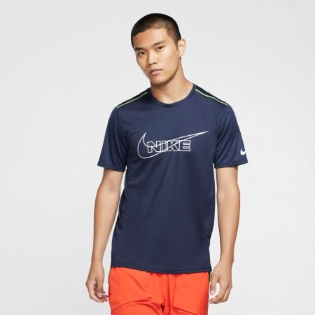 Pánské běžecké tričko - Nike DF BRTHE RUN TOP HBR M - 6